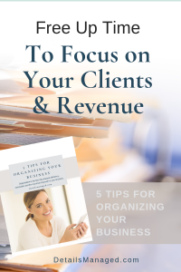 Free Up Time to Focus on Your Clients & Revenue